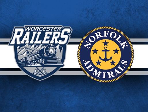 Worcester Railers HC vs Norfolk Admirals