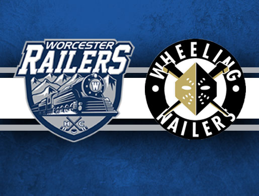 Worcester Railers HC vs Wheeling Nailers