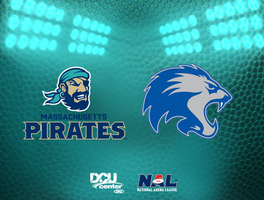 Massachusetts Pirates vs. Colombus Lions