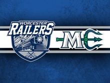 Railers vs. Maine Mariners