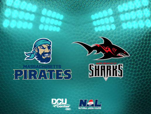 Massachusetts Pirates vs. Jacksonville Sharks