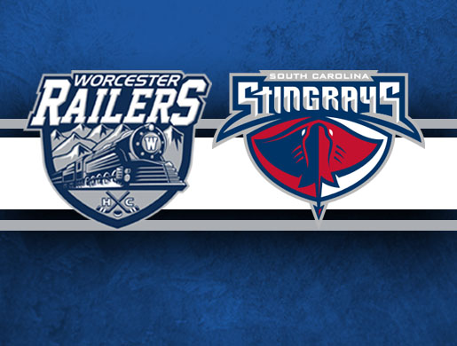 Worcester Railers HC vs South Carolina Stingrays