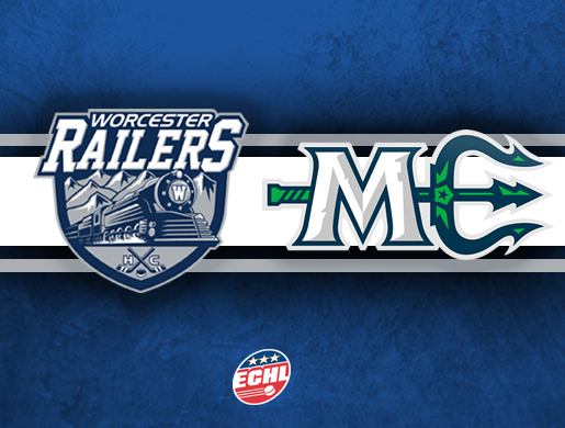 Worcester Railers HC vs Maine Mariners