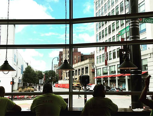 Work-friendly Coffee Shops Near the DCU Center