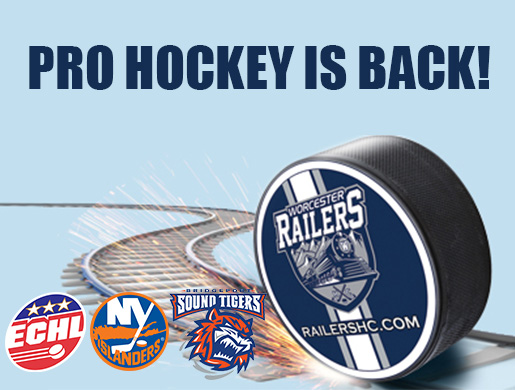 Worcester Railers HC Announce Affiliation with NY Islanders and Bridgeport Sound Tigers