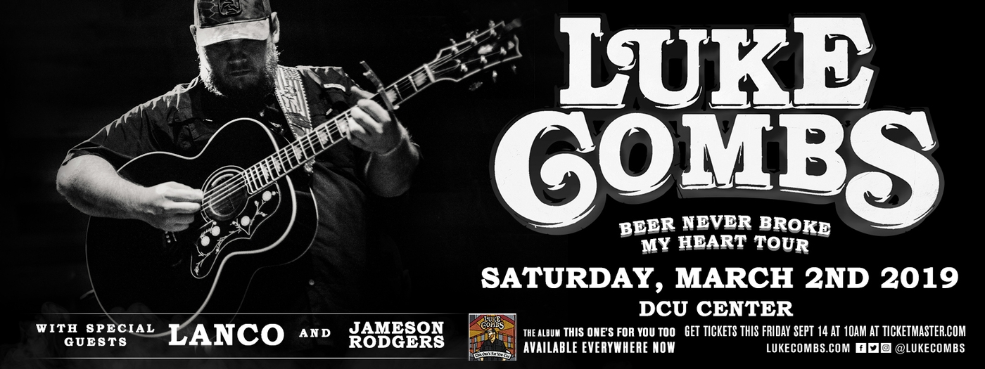 Luke Combs: Beer Never Broke My Heart Tour