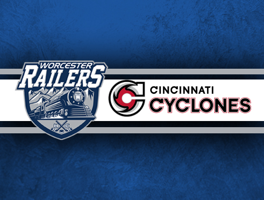 Worcester Railers HC vs Cincinnati Cyclones