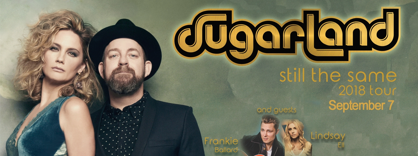 Sugarland- Still the Same tour 2018