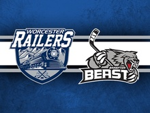 Railers vs. Brampton