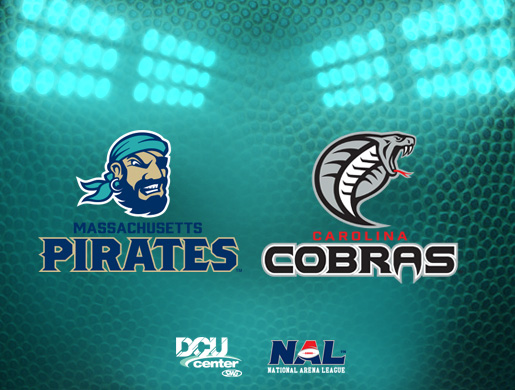 Massachusetts Pirates vs. Carolina Cobras