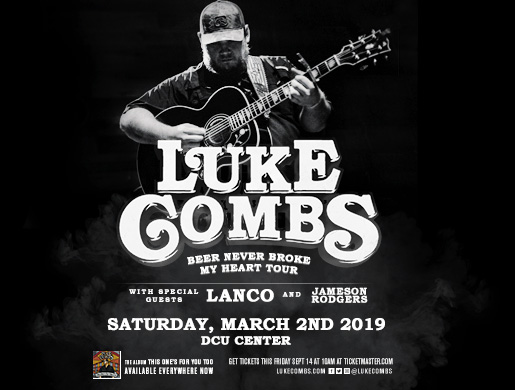 Luke Combs: Beer Never Broke My Heart Tour- Sold Out