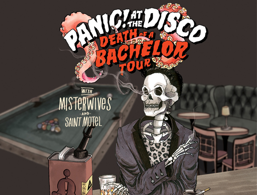 Panic! At The Disco Death of a Bachelor Tour