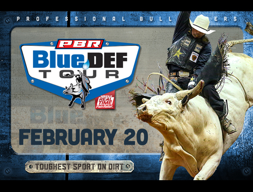 Professional Bull Riders BlueDEF Tour